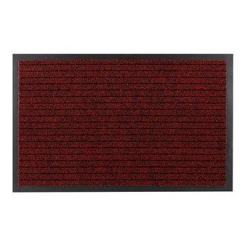 Wycieraczka DURA 3879 antypoślizgowa, zewnętrzna, wewnętrzna, na gumie - czerwony, 100x150 cm-Dywany Łuszczów