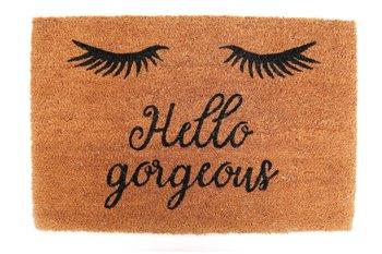 Wycieraczka, Hello gorgeous, włókno kokosowe, 60x40 cm-Sil