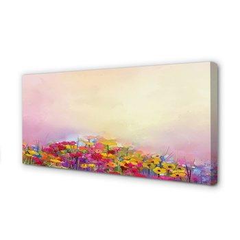 Wydruk na płótnie dekor Obraz kwiaty niebo, 100x50 cm cm-Tulup
