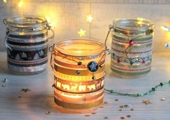 Wykonaj świąteczne lampiony - dodaj wnętrzom magicznego blasku