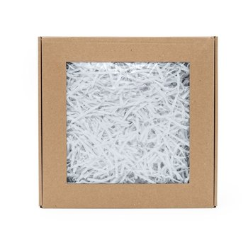 Wypełniacz papierowy pak biały - 0,2 kg + box