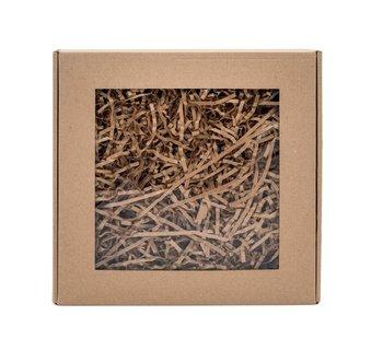 Wypełniacz papierowy pak naturalny - 0,2 kg + box