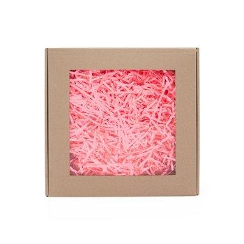 Wypełniacz papierowy pak róż neon - 0,2 kg + box