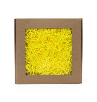 Wypełniacz papierowy pak żółty neon - 0,2 kg + box