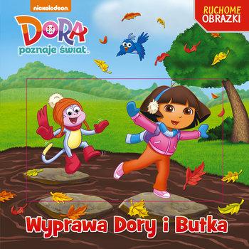 Wyprawa Dory i Butka. Dora poznaje świat. Ruchome obrazki-Opracowanie zbiorowe