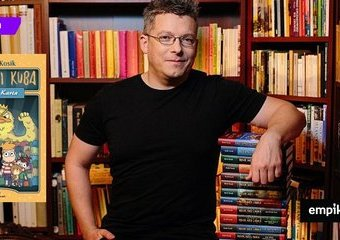 Wywiad z Rafałem Kosikiem nie tylko o książkach, które podbiły serca dzieci i nastolatków