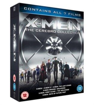 X-Men Franchise - The Cerebro Collection (brak polskiej wersji językowej)-Vaughn Matthew, Hood Gavin, Mangold James, Ratner Brett, Singer Bryan