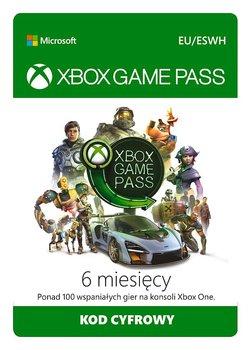 Xbox Game Pass - 6 miesięcy