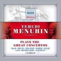 Yeuhudi Menuhin plays the Great Concertos-Menuhin Yehudi