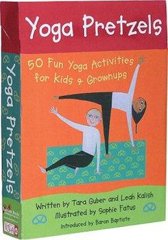 Yoga Pretzels: 50 Fun Yoga Activities for Kids & Grownups-Guber Tara