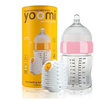 Yoomi, Butelka ze smoczkiem i podgrzewaczem, 240 ml