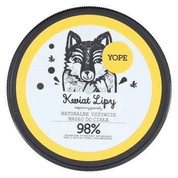 Yope, Lipa, masło do ciała, 200 ml-Yope