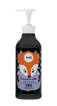 Yope, żel pod prysznic dla dzieci Pomarańcza i Jabłko, 400 ml-Yope