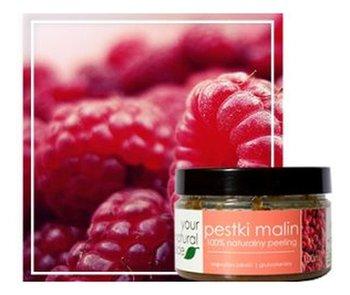 Your Natural Side, naturalny peeling z pestek malin gruboziarnisty, 100 ml-Your Natural Side
