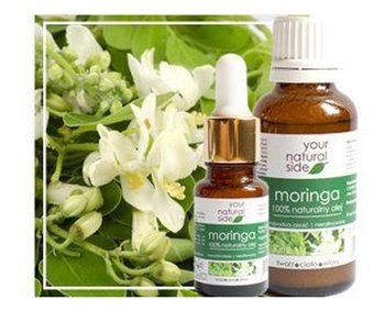 Your Natural Side, olej moringa nierafinowany, 10 ml -Your Natural Side