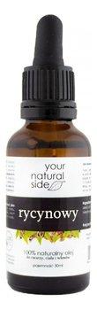 Your Natural Side Olej rycynowy nierafinowany z pipetką 30ml-Your Natural Side