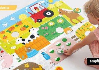 Zabawa na okrągło z CzuCzu – czas na przygodę z puzzlami!