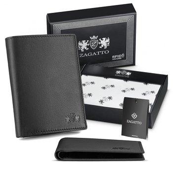 Zagatto, Portfel męski z ochroną RFID, ZG-N051-W-F2-Zagatto