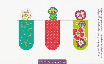 Zakładki magnetyczne - Kwiaty 2