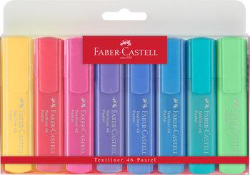 Zakreślacz, pastelowe kolory, 8 sztuk-Faber-Castell