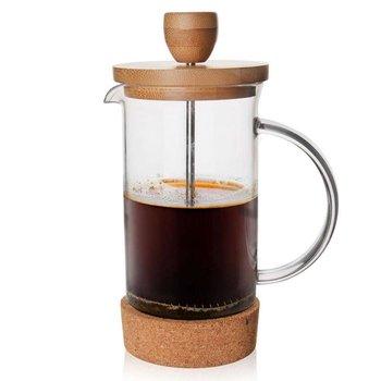 Zaparzacz imbryk DZBANEK szklany z tłokiem do kawy herbaty ziół 0,4L-Orion