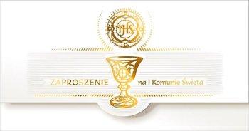 Zaproszenia na Komunię św., ZK 5Z-AB Card