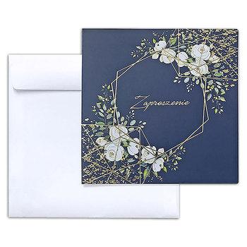 Zaproszenia na Ślub, 10 sztuk, granatowe-Forum Design Cards