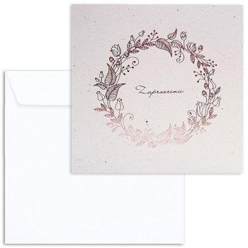 Zaproszenie na ślub, ecru, 10 sztuk-Forum Design Cards