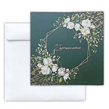 Zaproszenie na ślub, zielone, 10 sztuk-Forum Design Cards