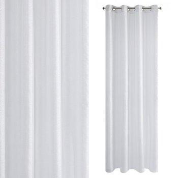 Zasłona EUROFIRANY Arlona, biała, 140x250 cm-Eurofirany