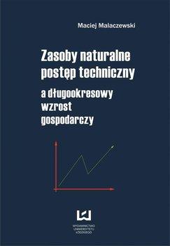 Zasoby naturalne. Postęp techniczny a długookresowy wzrost gospodarczy                      (ebook)