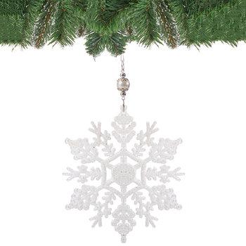 Zawieszka na choinkę SPRINGOS CA0081, śnieżynka, 17 cm-Springos
