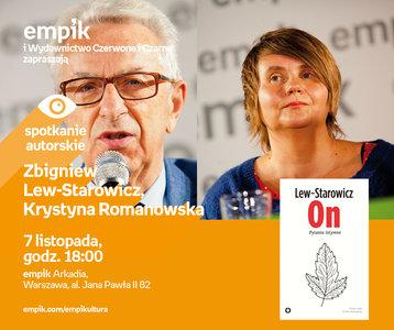 Zbigniew Lew-Starowicz, Krystyna Romanowska   Empik Arkadia