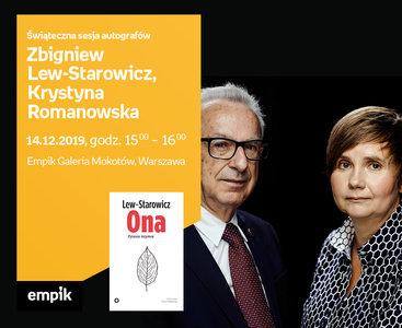 Zbigniew Lew-Starowicz, Krystyna Romanowska – świąteczna sesja autografów