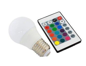 ZD7C ŻARÓWKA LED RGB PILOT E27 3W 16 KOLORÓW-ECpower