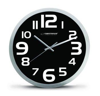 Zegar ścienny ESPERANZA Zurich, czarny-Esperanza