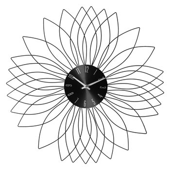 Zegar ścienny metalowy 50 cm -MIA home