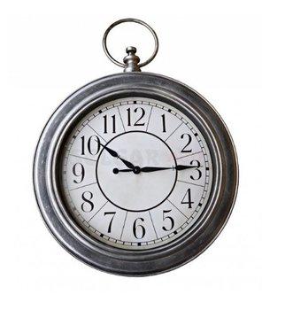 Zegar ścienny Retro Srebrny 50 Cm Sklep Empikcom