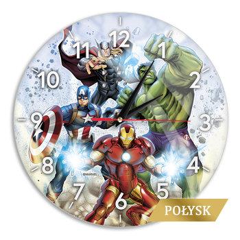 Zegar ścienny z połyskiem Avengers 001 Marvel Wielobarwny-Marvel