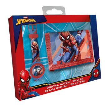 Zegarek Elektroniczny i Portfel, Spiderman-Spider-Man