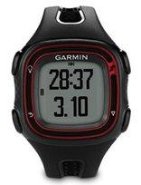 Zegarek GARMIN Forerunner 10 czarno-czerwony