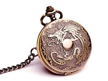 Zegarek kwarcowy DROBINY CZASU Dragon watch-Drobiny Czasu