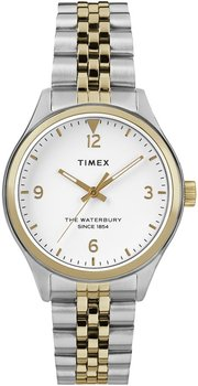 Zegarek TIMEX damski Waterbury TW2R69500 bicolor-Timex
