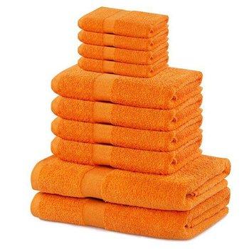 Zestaw 10 ręczników Marina pomarańczowy DecoKing-DecoKing