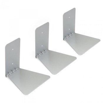 Zestaw 3 półek na książki UMBRA Conceal, srebrne-Umbra
