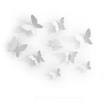 Zestaw dekoracyjny Mariposa biały-Umbra
