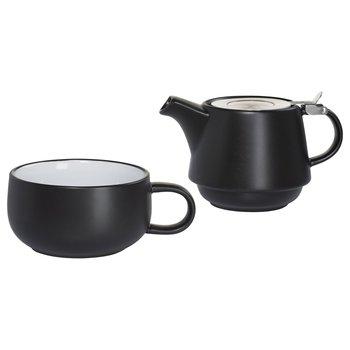 Zestaw do herbaty MAXWELL AND WILLIAMS Tint, czarny, 2 elementy-Maxwell And Williams