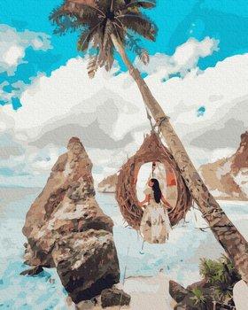 Zestaw do malowania po numerach, Hawajskie odprężenie-Brushme