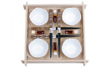 Zestaw do sushi TADAR, biały-Tadar