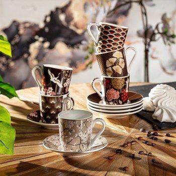 Zestaw filiżanek do espresso DEKORIA Orient, 100 ml, 6 szt.-Dekoria